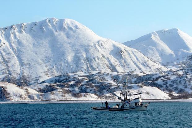 Kodiak jig boat. PHOTO BY HOLLAND DOTTS